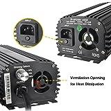 iPower 400 Watt Digital Dimmable Electronic Ballast for HPS MH Grow Light
