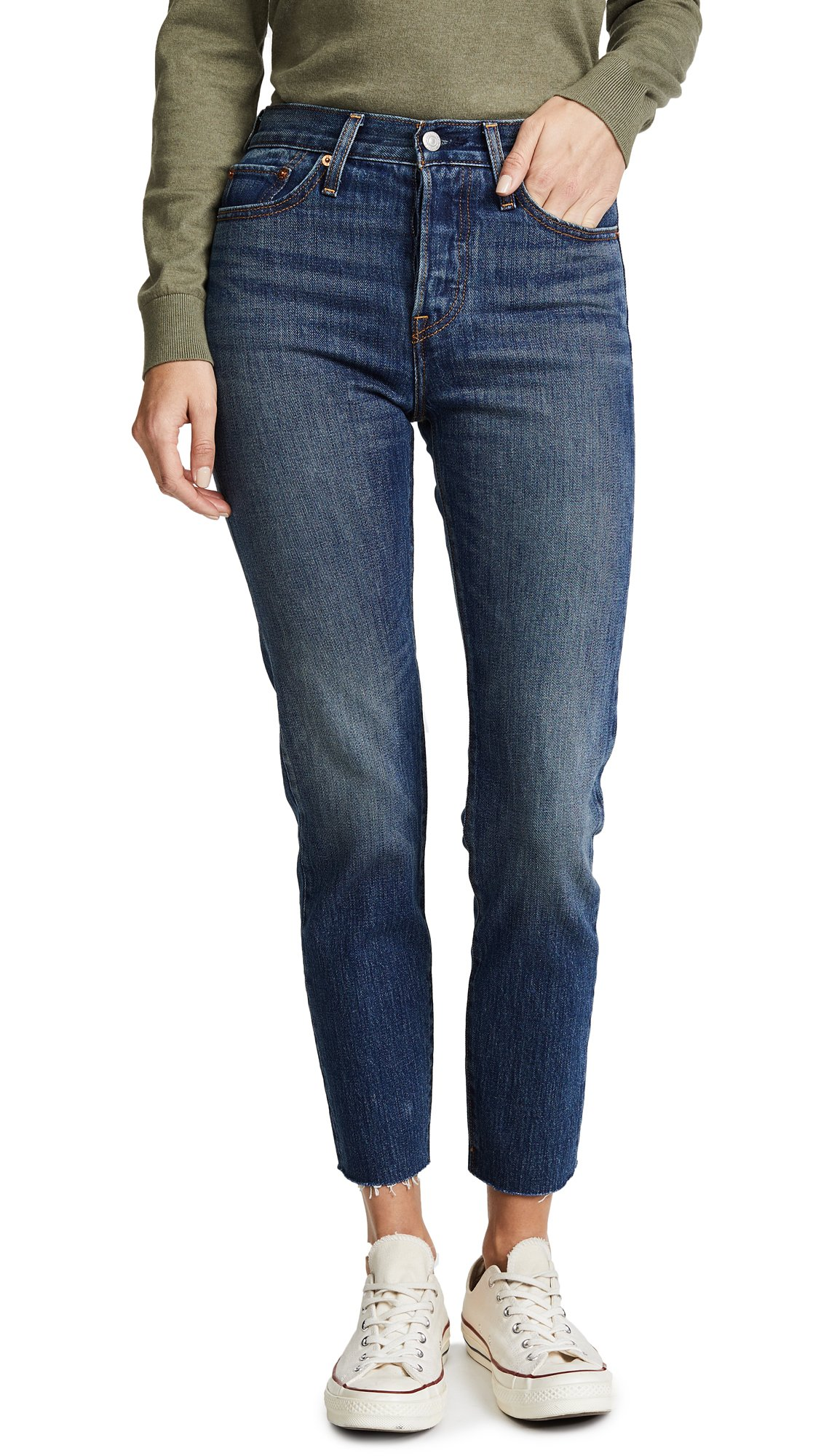 Levi's Women's Wedgie Icon Jeans, Classic Tint, 27 (US 4) by Levi's (Image #1)