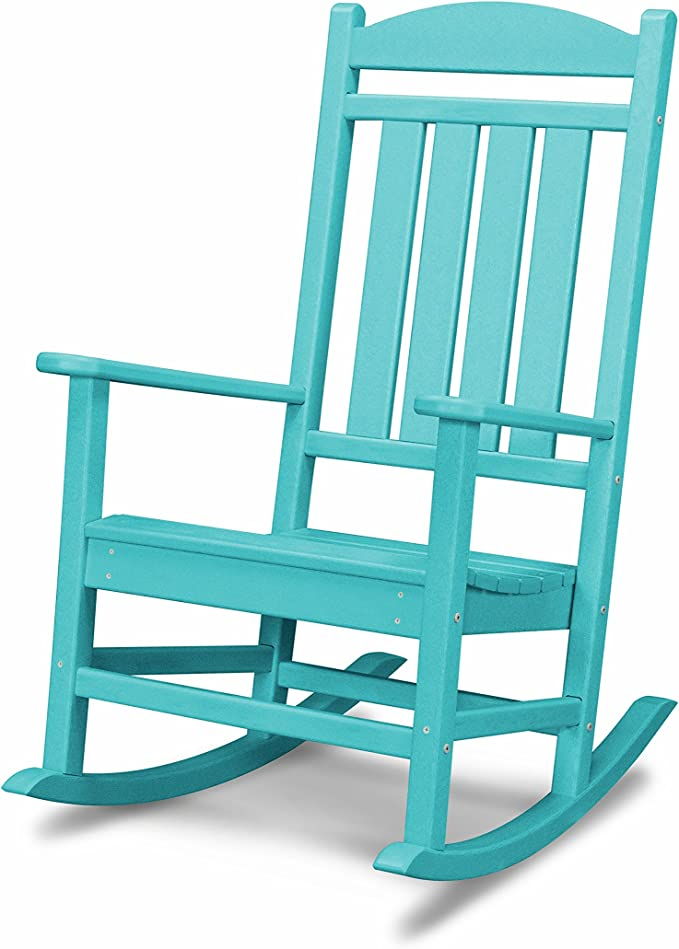 POLYWOOD R100AR Presidential Rocking Chair - Best for Installation