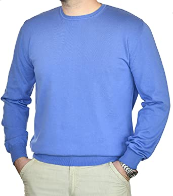pullower uomo girocollo cashmere | Don Saro