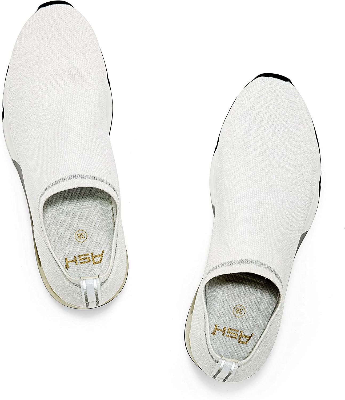ASH Women's As-Loveless Sneaker White/Silver