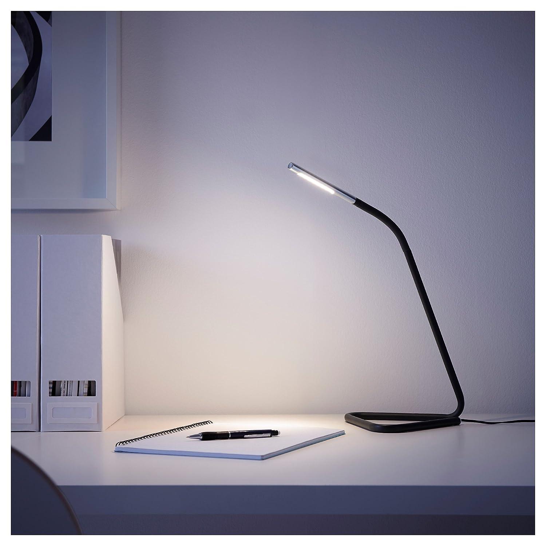 Black Silver Color IKEA.. IKEA 302.669.89 H/årte Led Work Lamp