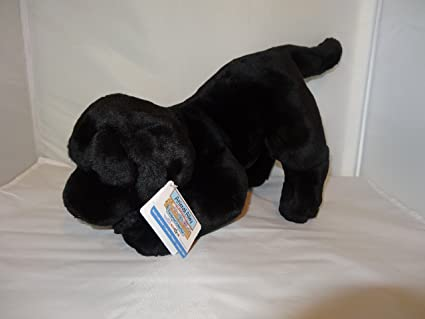 Animal Alley Toys R Us Black Labrador Purebred Collection Plush Stuffed Animal Dog
