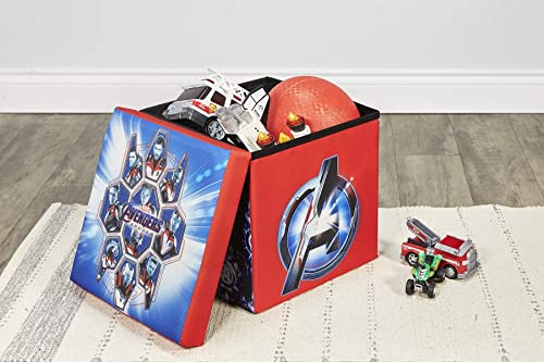 Marvel Avengers Endgame Toy Storage Cube, 15 Ottoman and Footrest