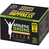 Athletic Greens Premium Green Superfood Cocktail - The Most Complete Greens Powder Supplement On The Planet, 30-Day Travel Pack