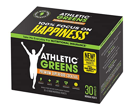 Amazon.com: Athletic Greens Premium Green Superfood Cocktail - The ...