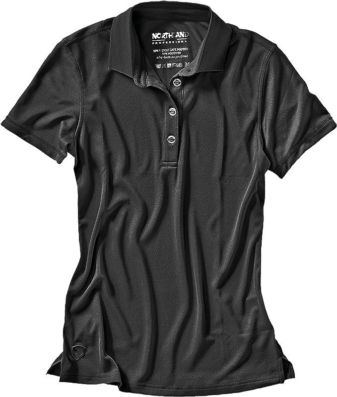 Northland Professional Mujer Polo Camiseta Cafe Base Rea