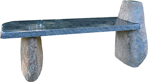 Stone Age Creations BE-BO-2 Side Leg Boulder Bench