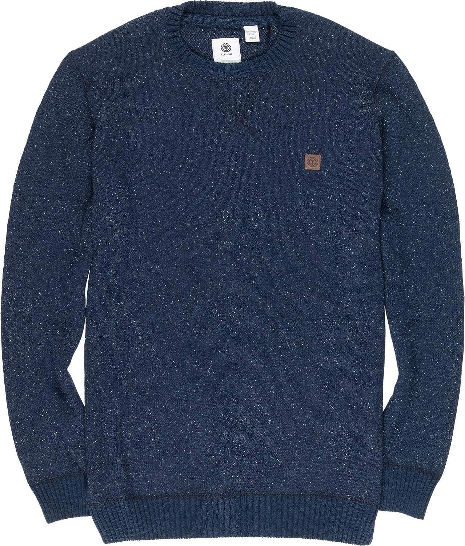 Element Knitted Sweater ~ Kayden Navy