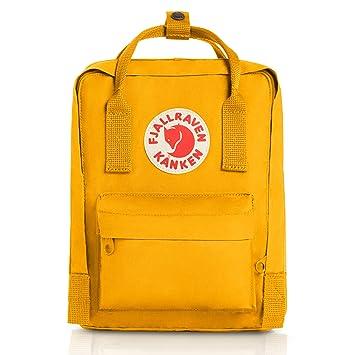 Fjällräven Kånken Mini Mochila de Senderismo Unisex Adulto, Amarillo (Warm Yellow), 7 l (29 x 20 x 13 cm): Amazon.es: Deportes y aire libre