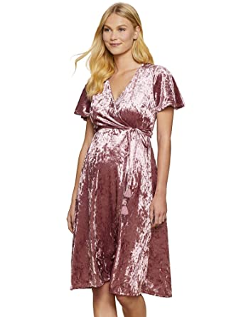 7a876ddd045 Jessica Simpson Wrap Maternity Dress at Amazon Women s Clothing store