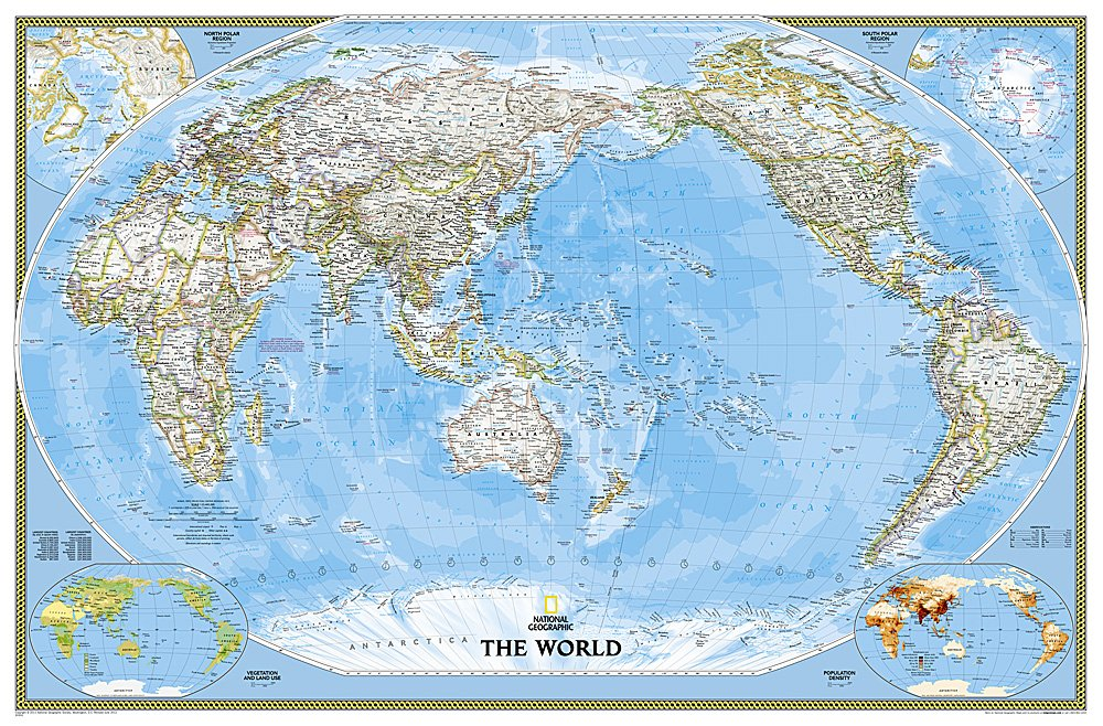 World classic pacific centered wall map enlarged laminated world classic pacific centered wall map enlarged laminated national geographic maps 9781597751346 books amazon publicscrutiny Gallery