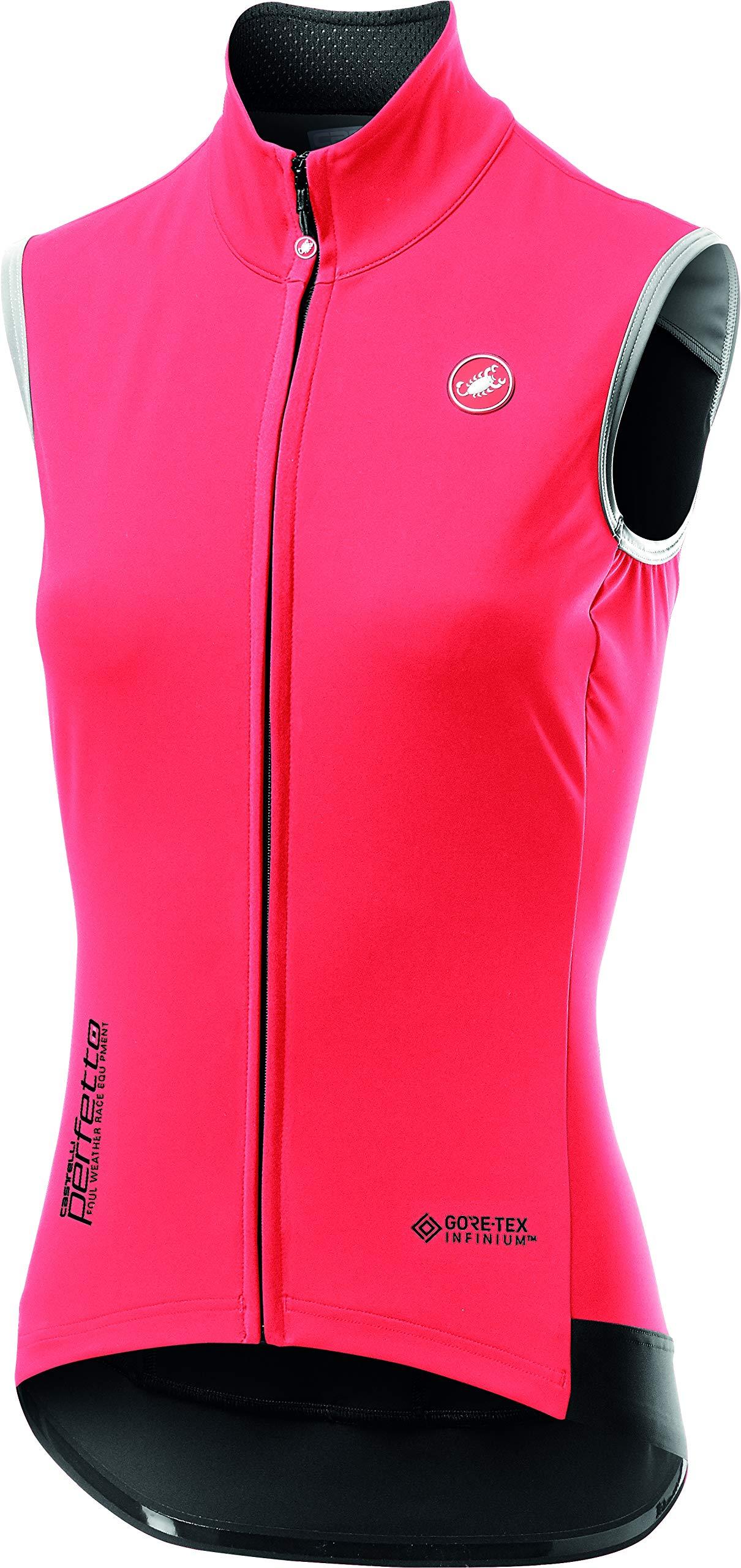 Castelli Perfetto ROS Vest - Women's Brilliant Pink, M by Castelli