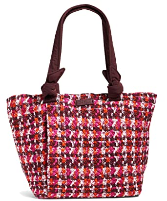 fc415074570 Image Unavailable. Image not available for. Color  Vera Bradley Hadley East  West Tote Bag, Signature Cotton (Brown Houndstooth Tweed)