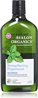 product image for Avalon Organics Strengthening Shampoo - Peppermint - 11 Oz - 2 Pk