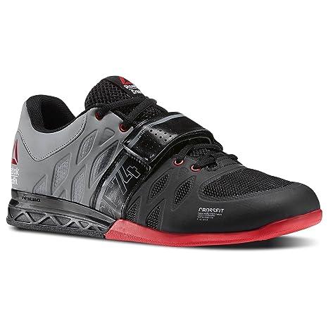 Reebok Crossfit Lifter 2,0 Zapatillas de Entrenamiento para Hombre Negro/Gris Gimnasio Fitness Zapatillas: Amazon.es: Deportes y aire libre