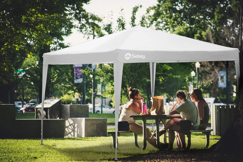 Sekey 3x3m Cenador para Jardin Plegable, Impermeable Carpa de ...