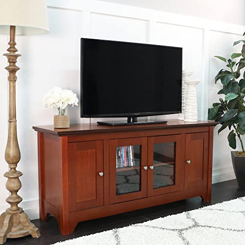 Walker Edison 53″ Wood TV Stand Console