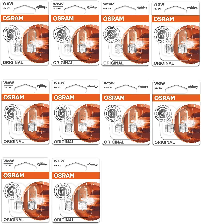 501 Bulbs X 30 12V//5W