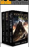 The Stormblade Saga Three Book Collection: Pilgrim of the Storm, Forge of the Jadugar, Wake of Alshasra'a