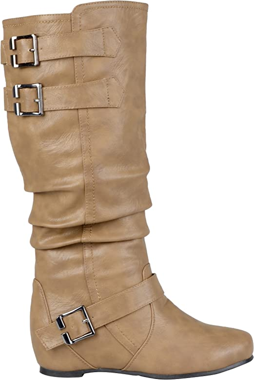 cc0b9f9631 Amazon.com | Journee Collection Womens Regular Sized and Wide-Calf ...