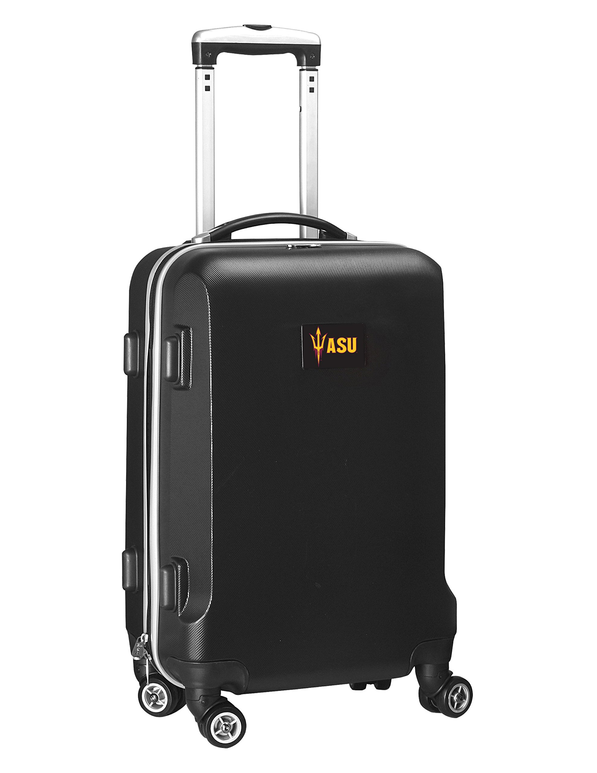 NCAA Arizona State Sun Devils Carry-On Hardcase Luggage Spinner, Black