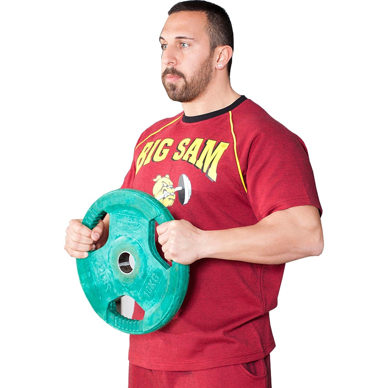 BIG SM EXTREME SPORTSWEAR Herren Ragtop Rag Top Sweater T-Shirt Bodybuilding 3076
