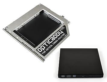Opticaddy© SATA-3 HDD/SSD Caddy Adaptador SET con carcasa ...