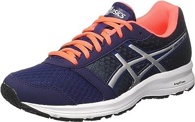 Asics Patriot 9, Zapatillas de Entrenamiento para Hombre, Multicolor (Indigo Blue/Silver/Flash Coral 4993), 39.5 EU: Amazon.es: Zapatos y complementos