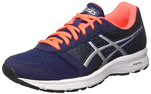 Asics Women's Patriot 9 Training Shoes, Blue (Indigo Blue/Silver/Flash Coral