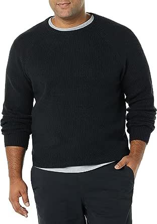 Amazon Essentials Long-Sleeve Soft Touch Crewneck Sweater Suéter Hombre