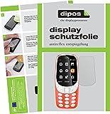 Nokia 3310 Schutzfolie - 6x dipos Displayschutzfolie Folie matt
