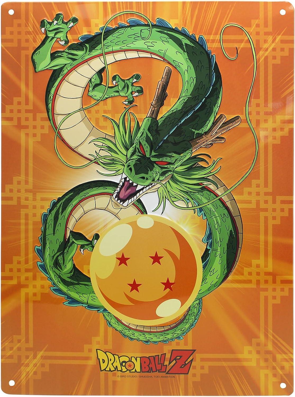 28x38cm Plaque Murale m/étal Shenron ABYstyle Dragon Ball