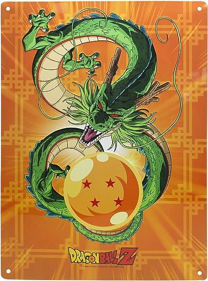 Placa metálica Dragon Ball, Shenron