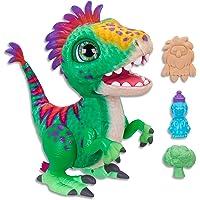 Hasbro E0387 FurReal- Munchin' Rex Dinosaur inc Treats- Plush Pets- Interactive and nuturing Toys for Kids, Girls, Boys…