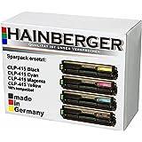 4x XXL Toner Set für Samsung CLP-415 1xBK,C,M,Y-BK 2.500 S.,Color je 1.800 S., kompatibel zu 504S.Geeigent für CLP-415N / CLP-415NW / CLX-4195N / CLX-4195FN / CLX-4195FW