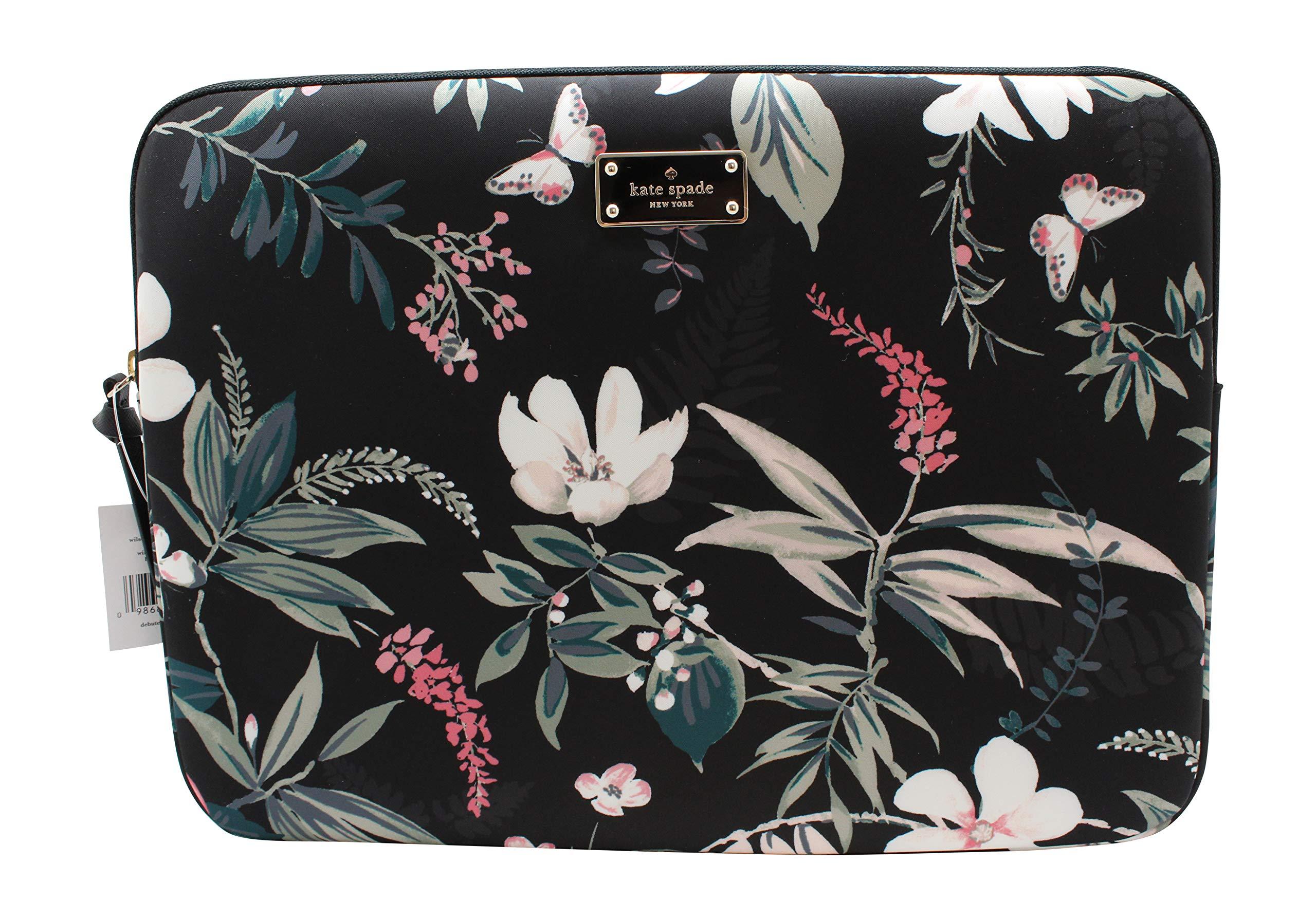 Kate Spade Wilson Rd Botanical Laptop Case Sleeve Black Multi 13'' by Kate Spade New York (Image #1)