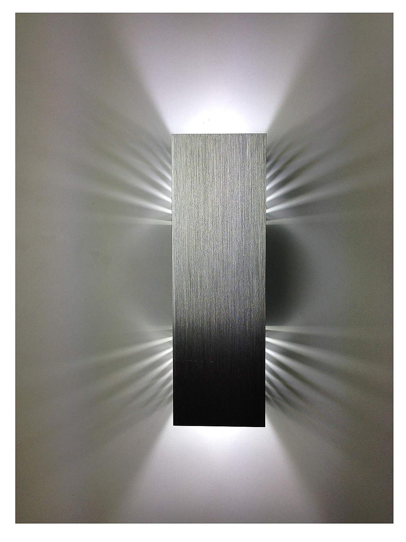 SpiceLED | ShineLED-6 | Wandeuchte 2x3W Warmweiß | Schatteneffekt | High-Power LED Wandlampe dimmbar [Energieklasse A++] lichtundwasserwelt.de