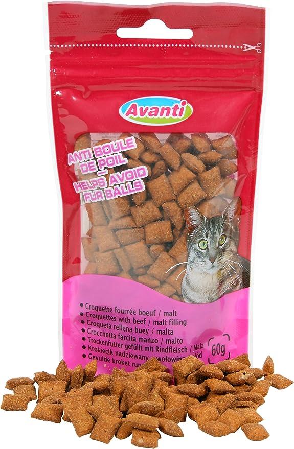 Zolux Dulces/Pienso fourrées AU Boeuf/Malt Anti de Bola de Pelo para Gato: Amazon.es: Productos para mascotas