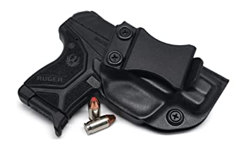 Concealment Express IWB KYDEX Holster: fits Ruger LCP II (CF BLK, RH) -  Inside Waistband Concealed Carry - Adj  Cant/Retention - US Made