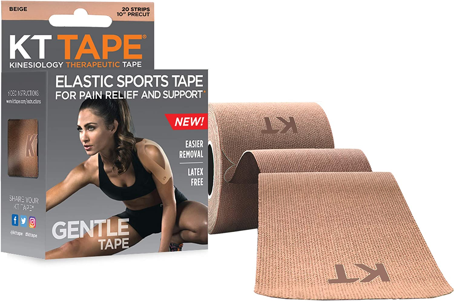 KT Tape Kinesiology Therapeutic Tape Original Cotton Sport Pain Relief  Support