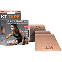 KT Tape Kinesiology Therapeutic Gentle Sports Tape, Beige