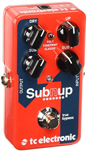 image of TC ELECTRONIC SUB 'N' UP - one of the best octave pedals
