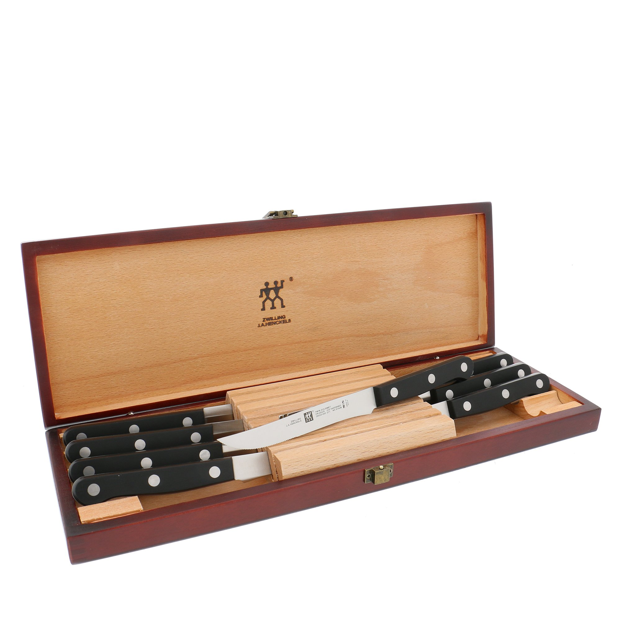 Zwilling J.A. Henckels Twin Gourmet 8-Piece Steak Knife Set with Box by ZWILLING J.A. Henckels (Image #1)