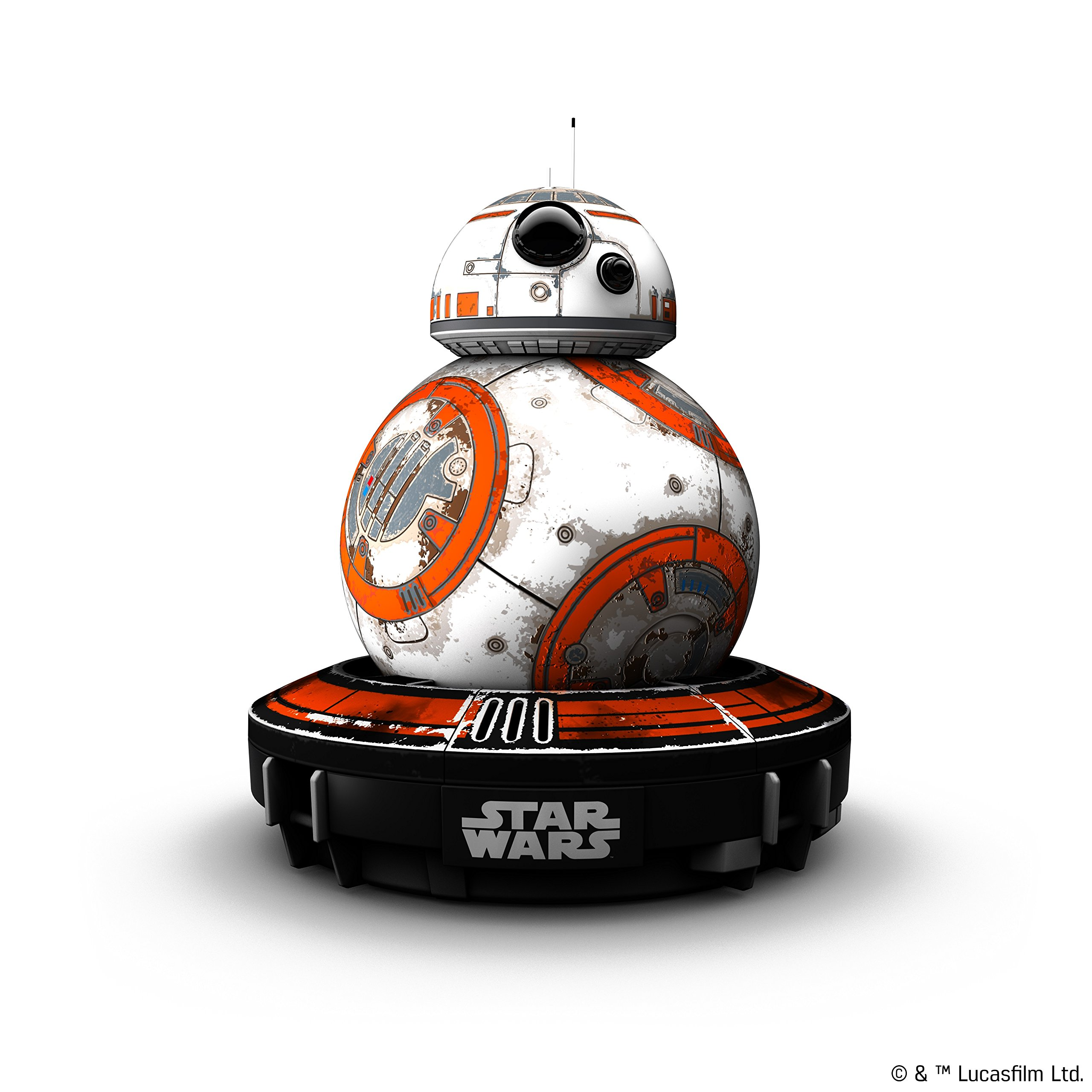 Wig Special Edition Battle-Worn BB-8 App-Enabled Droid with Force Band by Wig (Image #3)