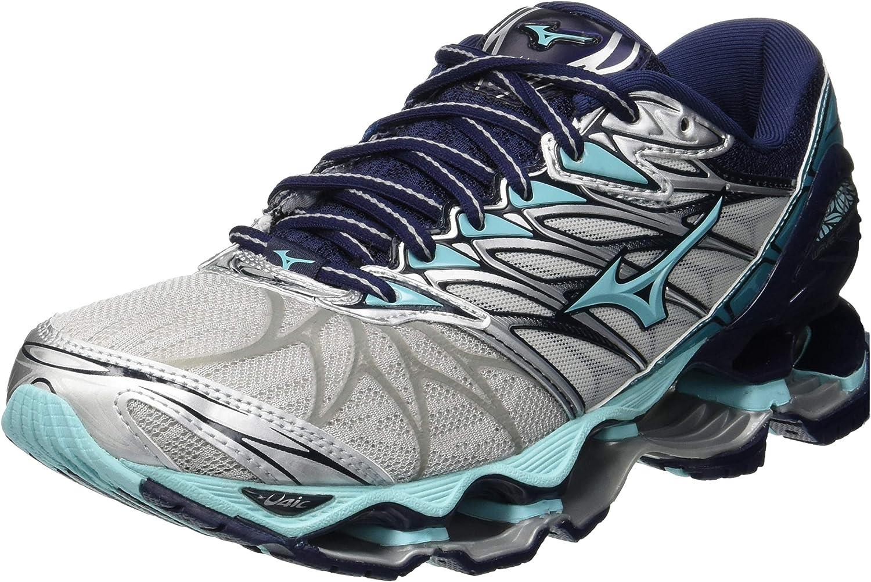 Mizuno Wave Prophecy 7, Zapatillas de Running para Mujer, Gris ...