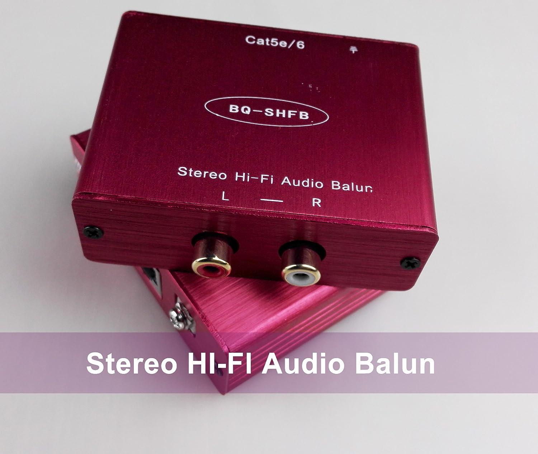 会議のHDオーディオBalun R / Lオーディオ機器Live Showフィルタノイズオーディオフィルタ   B072C43QKC