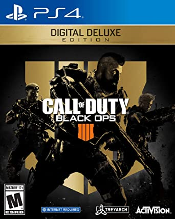 Call Of Duty Black Ops 4 Digital Deluxe Ps4 Digital Code Video Games