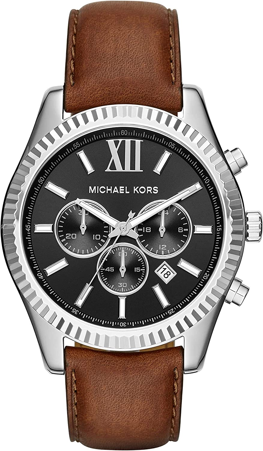 Michael Kors Men s Lexington Brown Watch MK8456