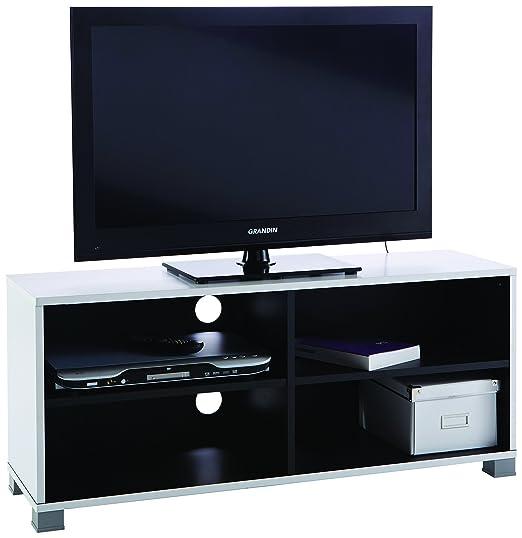 34 opinioni per 13Casa simply d20 tv stand. dim. 101,2*29,4*43,5h cm. mdf. bianco e nero.